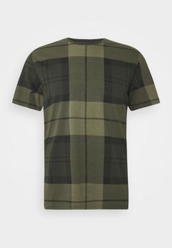 Barbour Beacon - TARTAN TEE - T-shirt print - forest