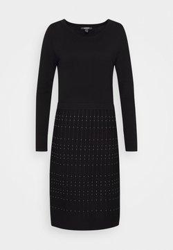 Esprit Collection - DRESS - Vestido de punto - black
