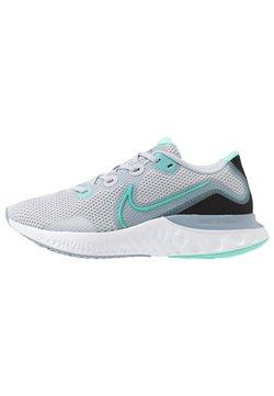 Nike Performance - RENEW RUN - Zapatillas de running neutras - sky grey/hyper turquoise/obsidian mist/white
