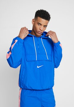 Nike Sportswear - Windbreaker - game royal/white/pink gaze