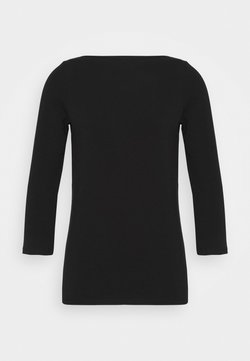 ONLY Tall - ONLLIVE LOVE 3/4 BOATNECK - Langarmshirt - black