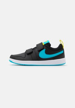 Nike Performance - PICO 5 UNISEX - Obuwie treningowe - black/chlorine blue/high voltage/white
