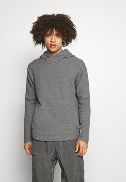 Nike Performance - YOGA - Kapuzenpullover - dark grey/heather/black