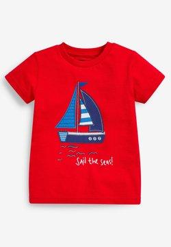 Next - T-Shirt print - red