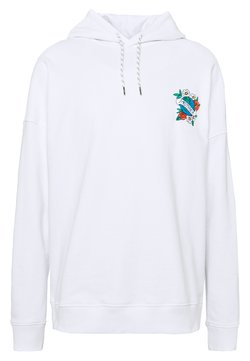 Quiksilver - MOTHER HOODY - Jersey con capucha - white