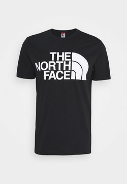 The North Face - STANDARD TEE - T-shirt con stampa - black