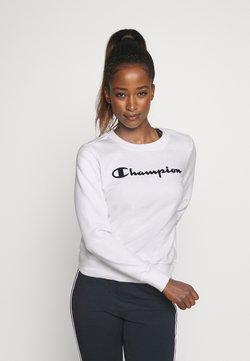 Champion - CREWNECK - Collegepaita - white