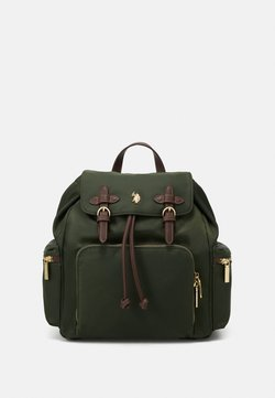 U.S. Polo Assn. - HOUSTON BACKPACK BAG - Reppu - green