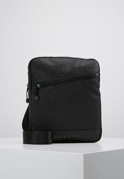 Bugatti - SMALL CROSSBODY BAG - Sac bandoulière - black/grey