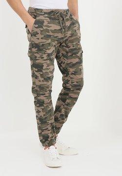 INDICODE JEANS - LEVI - Pantalon cargo - dired camouflage