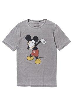 Re:Covered - DISNEY MICKEY - T-shirt print - grau