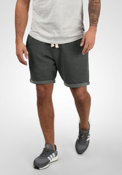 Blend - SWEATSHORTS TIMO - Shorts - charcoal