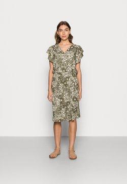 Saint Tropez - TISHA DRESS - Freizeitkleid - army green