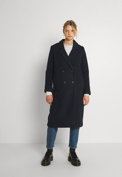 Monki - LOU COAT - Klasyczny płaszcz - navy