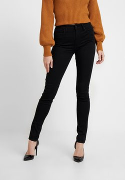 Levi's® - 721 HIGH RISE SKINNY LONG SHOT - Jean slim - black