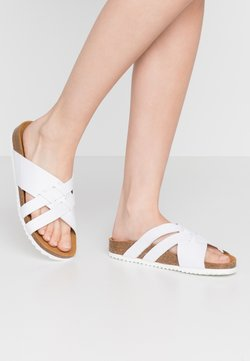 Office - STRIPE - Chaussons - white