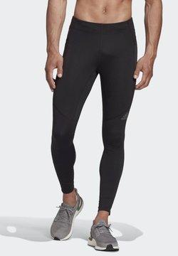 adidas Performance - SATURDAY SUPERNOVA FITTED LEGGINGS RUNNING - Trikoot - black