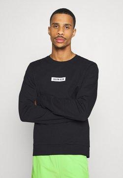 Calvin Klein Performance - PULLOVER - Collegepaita - black