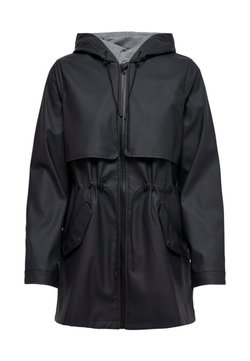 ONLY - ONLRACE SHORT RAINCOAT - Parka - dark blue