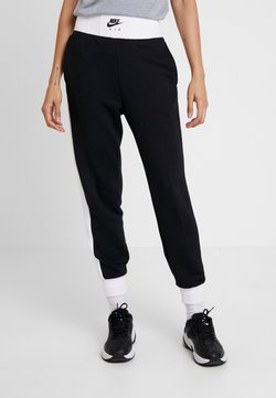 Nike Sportswear - AIR PANT - Jogginghose - black/birch heather/white
