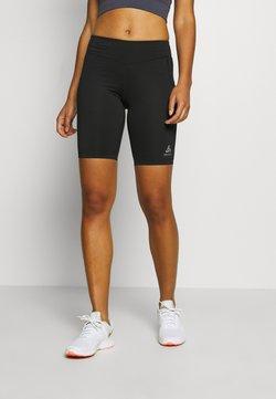 ODLO - SHORTS SMOOTHSOFT - Tights - black