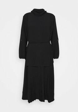 3.1 Phillip Lim - KNIFE PLEATING LAYERED DRESS - Maxikleid - black