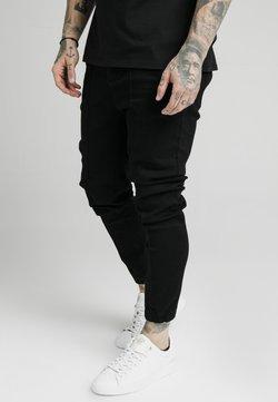 SIKSILK - CUFFED - Jeans Skinny Fit - black