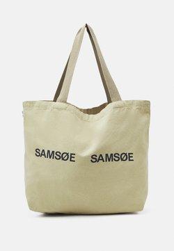 Samsøe Samsøe - FRINKA SHOPPER - Shoppingveske - sage green