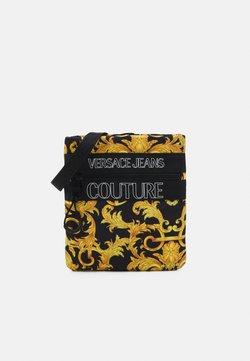 Versace Jeans Couture - UNISEX - Skulderveske - black/gold