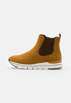 LOVE OUR PLANET by MARCO TOZZI - BOOTS - Ankelboots - mustard