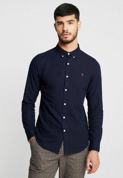 Farah - BREWER SLIM FIT - Overhemd - mid indigo