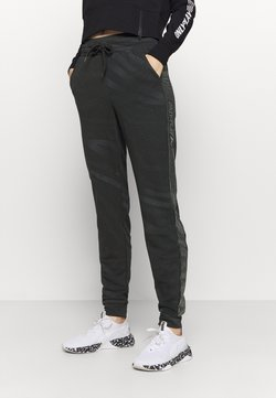 ONLY Play - ONPONAY SLIM PANTS - Jogginghose - black/silver