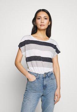 Betty & Co - T-Shirt print - white/blue