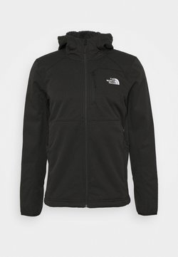 The North Face - QUEST HOODED - Softshelljacke - tnf black