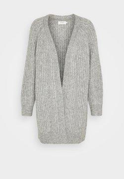 ONLY - ONLNEW CHUNKY  - Strickjacke - light grey melange