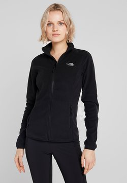 The North Face - WOMENS GLACIER FULL ZIP - Fleecejacke - black