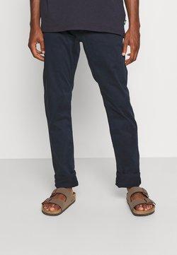 TOM TAILOR - SATIN STRETCH - Trousers - sky captain blue