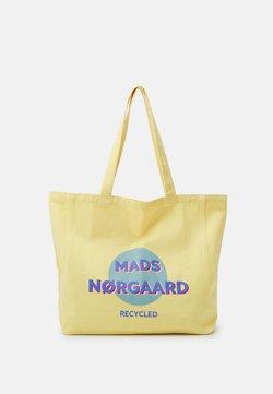 Mads Nørgaard - BOUTIQUE ATHENE - Shoppingväska - pale banana