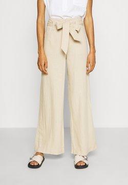 GAP - WIDE LEG SOLID - Pantalones - wicker