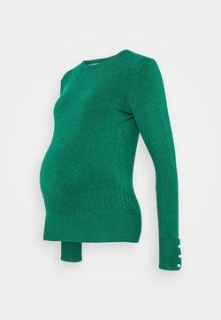 Dorothy Perkins Maternity - CUFF CREW NECK JUMPER - Jersey de punto - green
