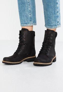 ECCO - ELAINE - Snørestøvletter - black