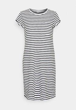 GAP - TEE DRESS - Jerseykleid - black/white