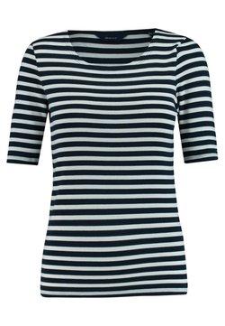 GANT - GANT DAMEN SHIRT KURZARM - T-Shirt print - marine