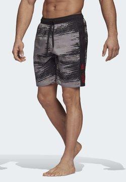 adidas Performance - FC BAYERN MUNICH SWIM SHORTS - Badeshorts - black