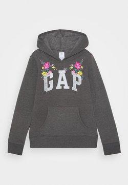 GAP - GIRLS LOGO  - Kapuzenpullover - dark heather grey