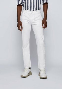 BOSS - DELAWARE - Jeans slim fit - white