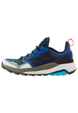 adidas Performance - adidas TERREX TRAILMAKER GORE-TEX WANDERSCHUHE - Outdoorschoenen - royal blue/core black/signal cyan