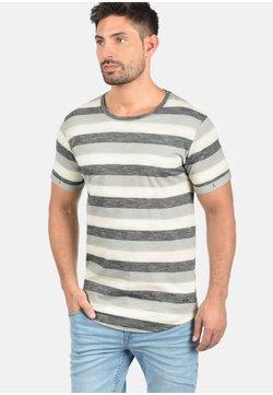 Solid - RUNDHALSSHIRT THICCO - T-Shirt print - black