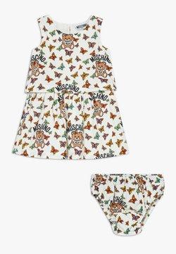 MOSCHINO - DRESS KNICKERS GIFT - Vestido informal - white