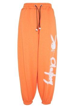 Missguided - PLAYBOY JUMBO  - Jogginghose - orange